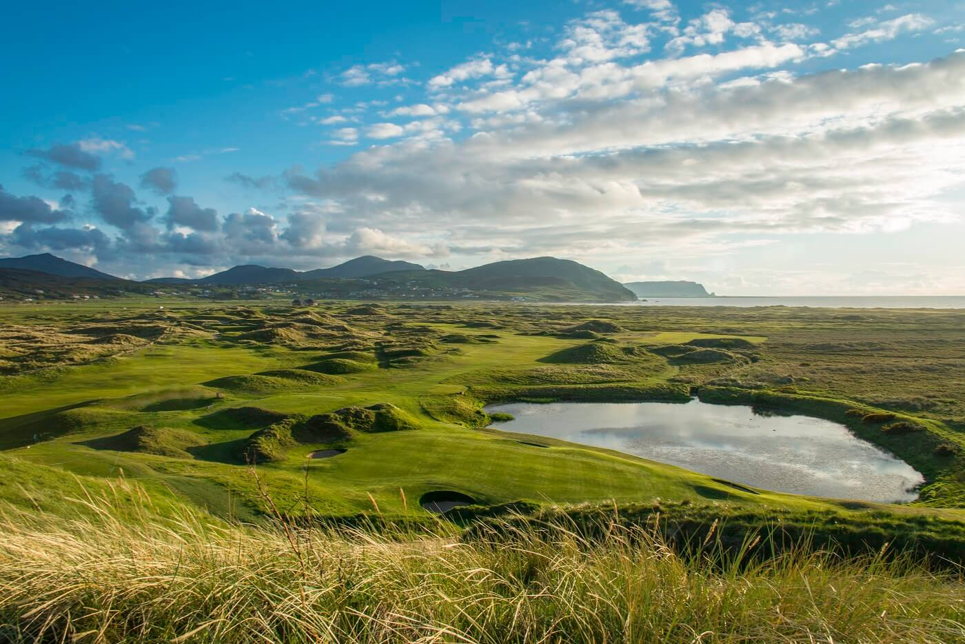 Venue with 2 great links in County Donegal