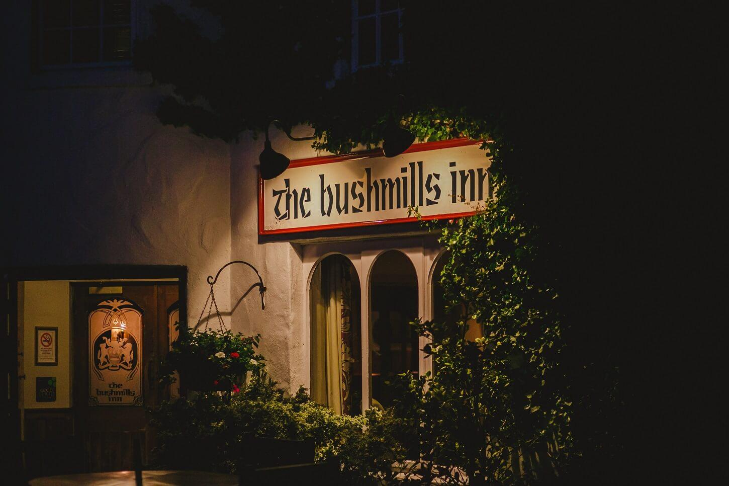 history and luxury at Bushmills