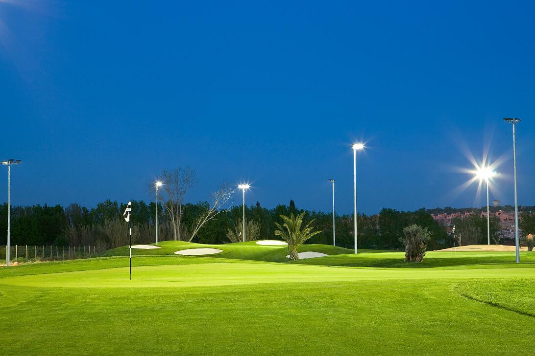 Night Golf at the Academy Course Amendoeira