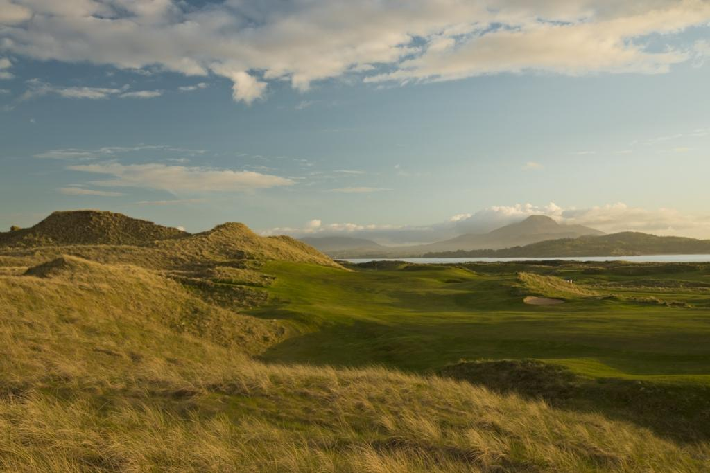 championship links course in Donegal