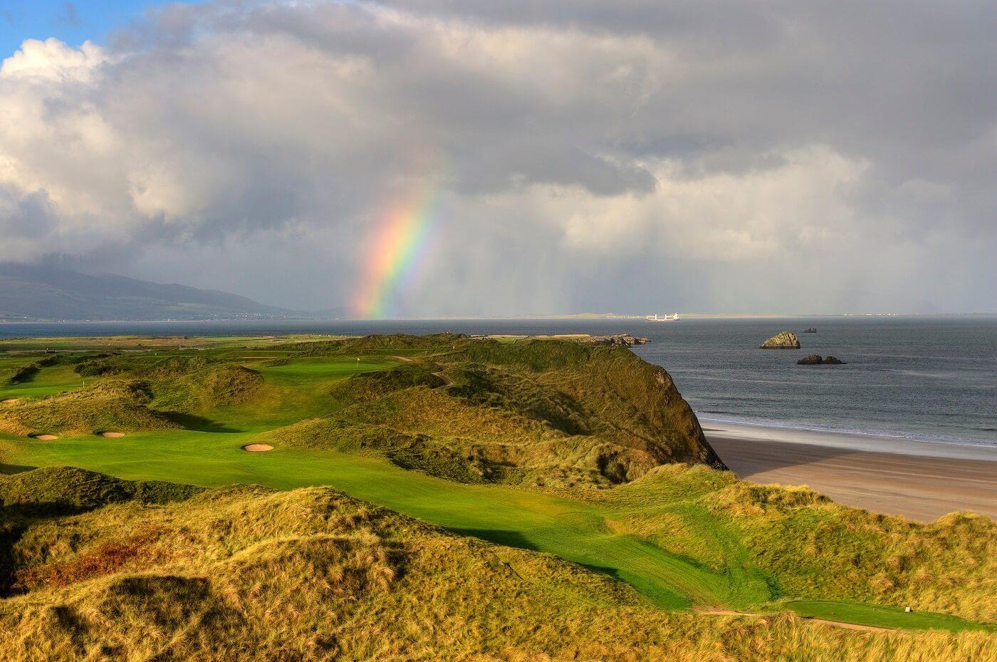 beautiful scenery at Tralee golf