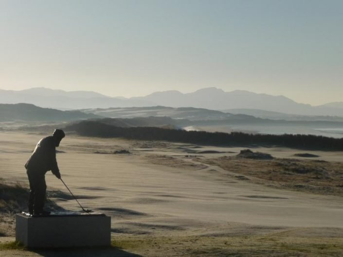 Old Tom Morris Looks Out Over Rosapenna Resort