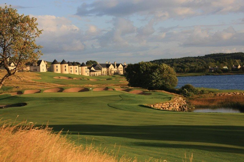 16th Hole Lough Erne